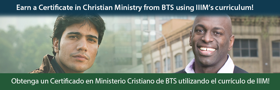 Certificate in Christian Ministry
