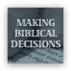 Making Biblical Decisions cover art