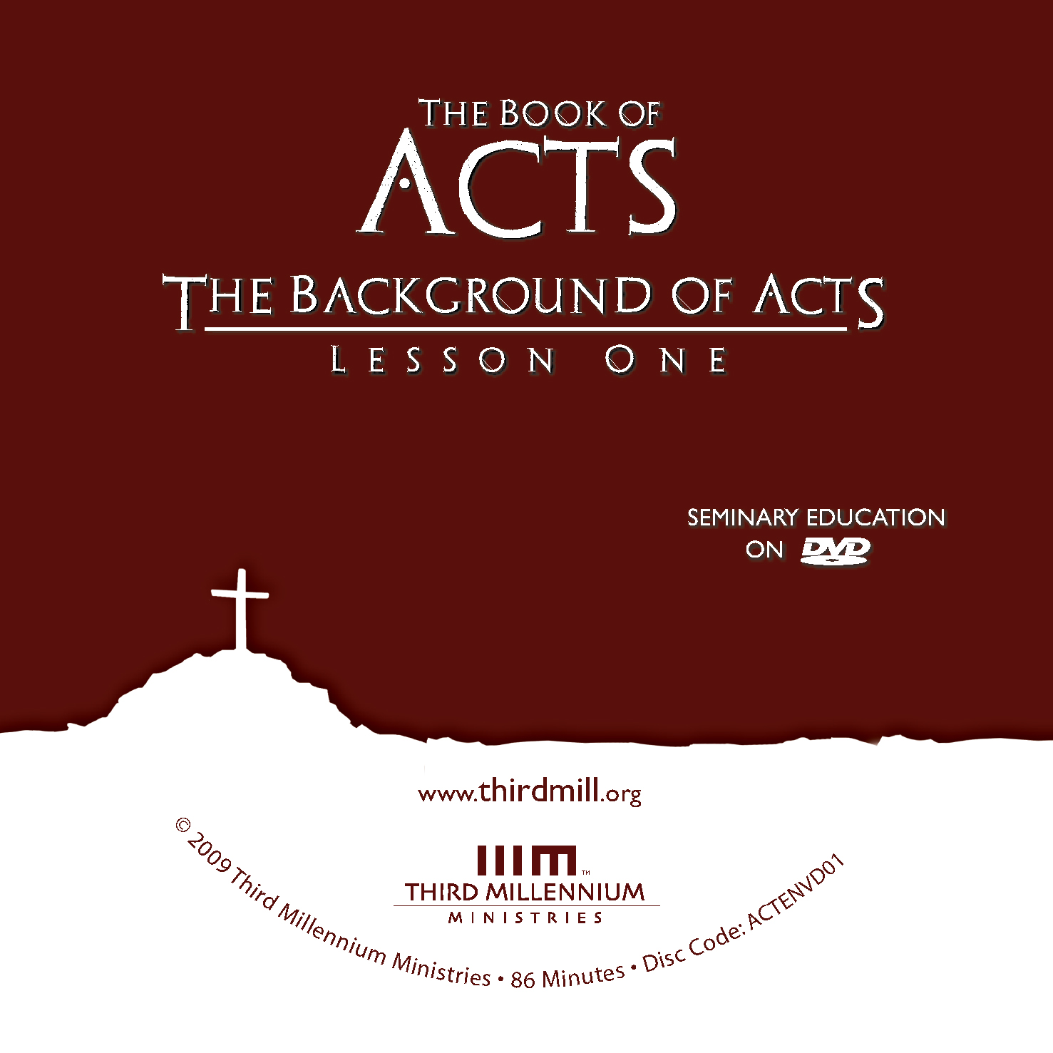 The Book of Acts: The Background of Acts (high definition video)