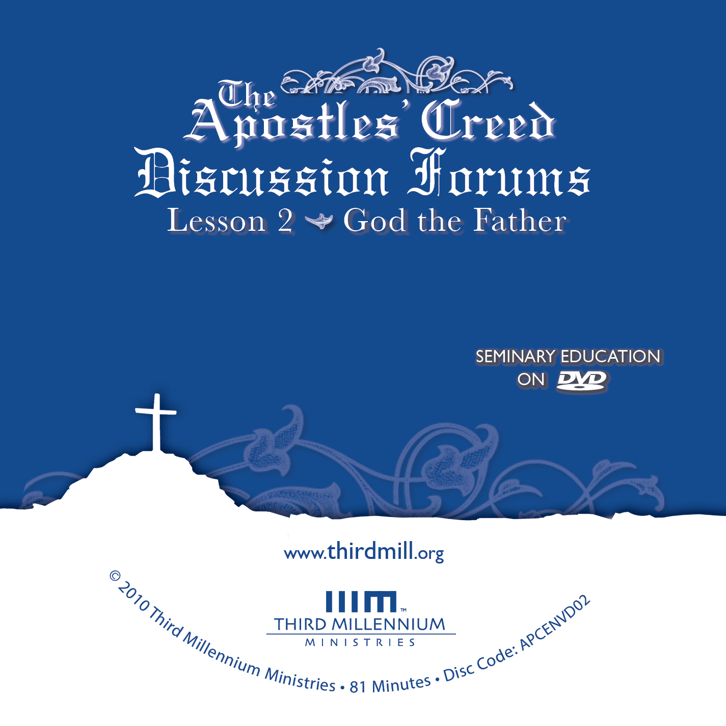 Video series the apostles creed disc art jpg fandeluxe Images