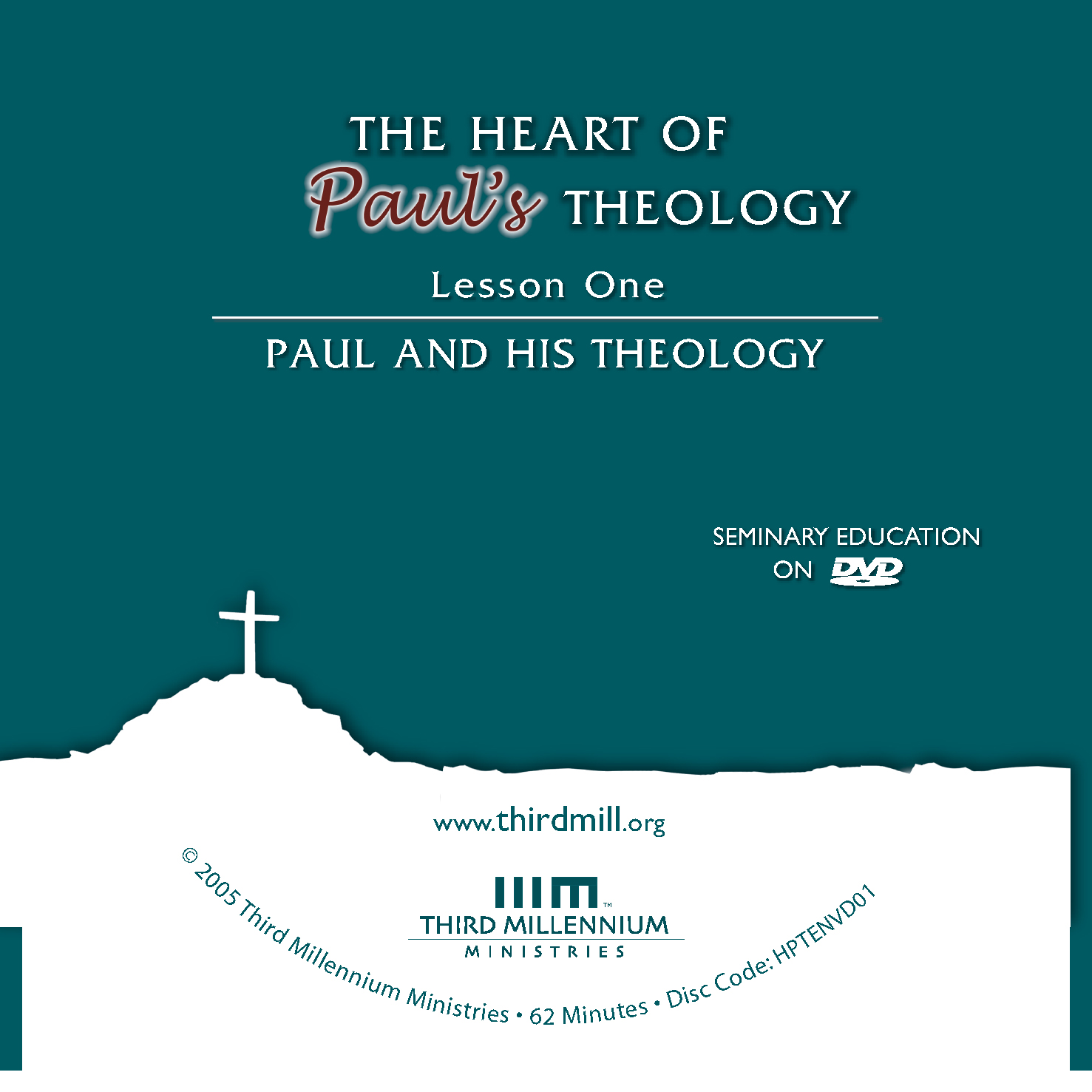 The Heart of Paul's Theology: Paul and his Theology (high