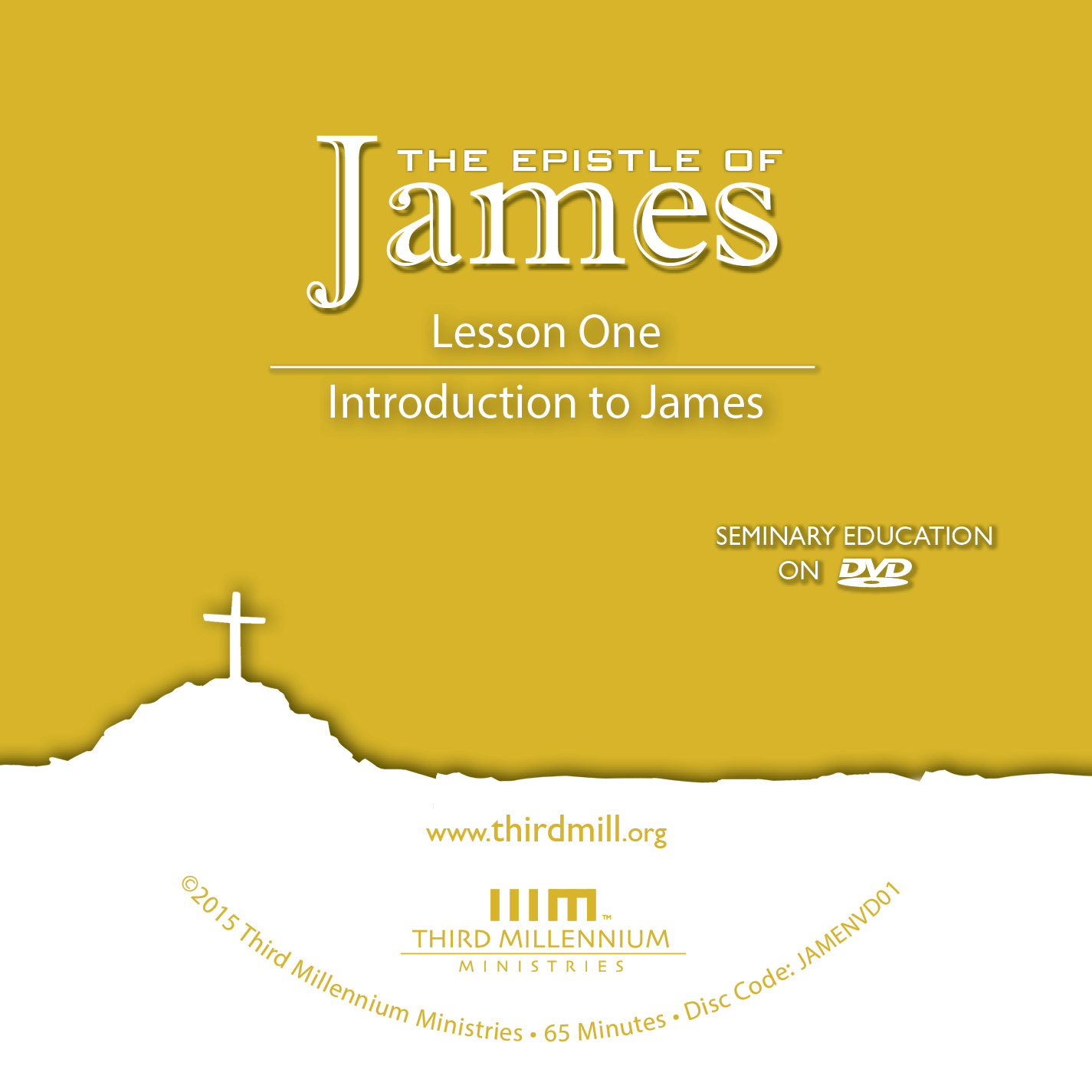 The Epistle of James: Introduction to James (audio)