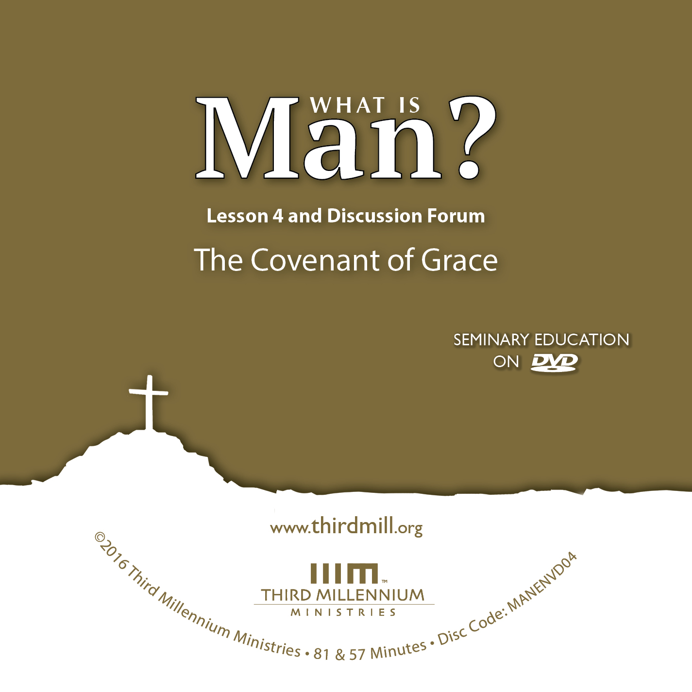 What is Man?: The Covenant of Grace (medium definition audio)