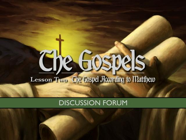 The Gospels: The Gospel according to Matthew (high definition video)